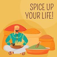 Indiase smaakstoffen sociale media plaatsen