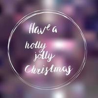 heb een hulst heel Kerstmis vector