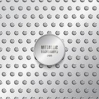 glanzende metalen achtergrond in zilveren kleur vector