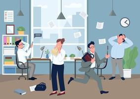 paniek op kantoor