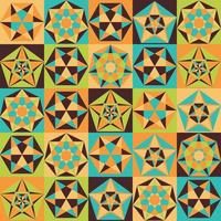 patroon in vlakke stijl.