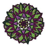 zentangle mandala voor kleurboek.