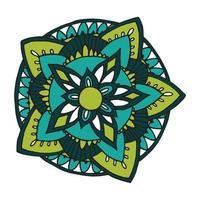zentangle mandala voor kleurboek