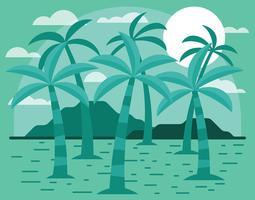 Palmier Illustratie