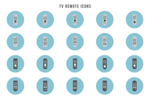 Gratis tv-afstandsvectoren vector