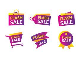 Flash Sale Headline Gratis Vector