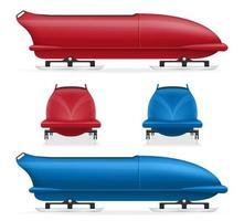 bobslee slee wintersport set