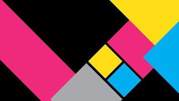 zwarte achtergrond verpakt in kleurrijke dambord abstract
