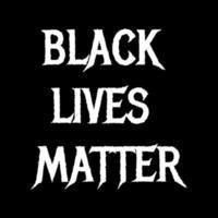 zwarte levens zijn belangrijk tekst