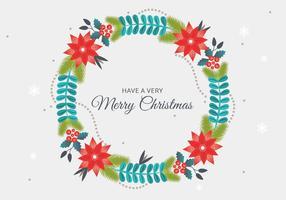 Gratis Vector Christmas krans