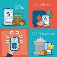 technologie voor online bankieren met elektronische apparaten