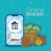 technologie voor online bankieren met smartphone