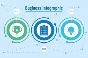 zakelijke en zakelijke infographic banner vector