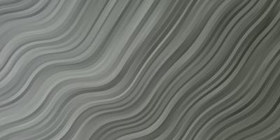 lichtgrijze achtergrond met gebogen lijnen. vector