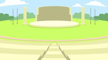 Outdoor Amphitheatre Gratis Vector