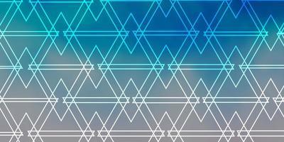 lichtblauwe achtergrond met veelhoekige stijl. vector
