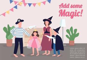 voeg een magische poster toe