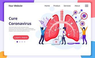 mensen die het covid-19-virus genezen
