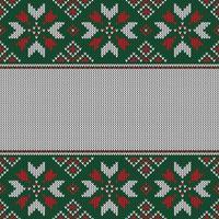 kerst gebreid patroon