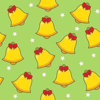 Christmas bell naadloze patroon