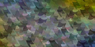 veelkleurige lay-out met lijnen, rechthoeken.