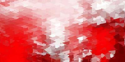 donkerrode poly driehoeksjabloon.