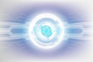 abstracte technologie concept achtergrond, vectorillustratie vector