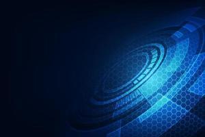 vector abstracte toekomstige technologie, elektrische telecomachtergrond
