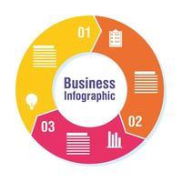 zakelijke en zakelijke infographic of presentatiebanner vector