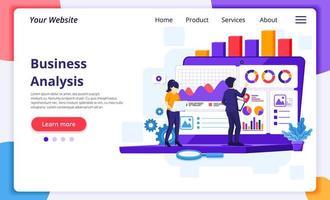 ondernemers werken met grafieken en gegevens