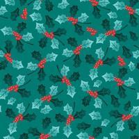 kerstvakantie maretak naadloze patroon