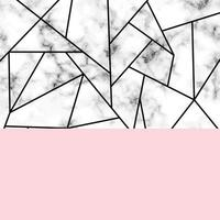 marmeren textuurontwerp met geometrische vormen
