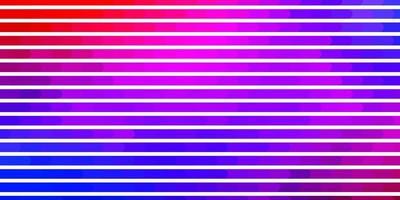 lichtblauw, rood patroon met lijnen.