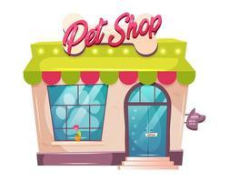 veterinaire winkel voorkant