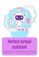 assistent bot poster