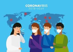coronavirus medische banner vector