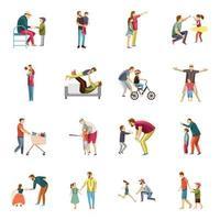 kinderopvoeding iconen pack