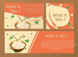 tofu vector ontwerp