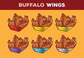 buffalo vleugels vector