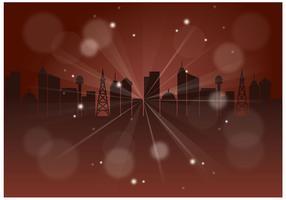 Gratis gelukkig Nieuwjaar achtergrond Vector