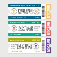 vector sportevenement tickets