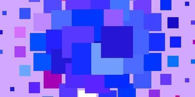lichtblauw, rood vectorpatroon in vierkante stijl. vector