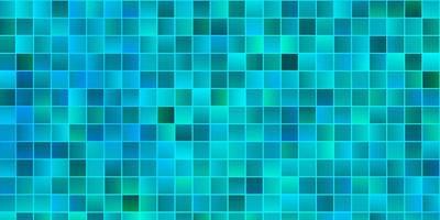 lichtblauwe vectortextuur in rechthoekige stijl.