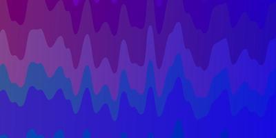 lichtblauw, rood vector sjabloon met wrange lijnen.