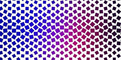 lichtblauwe, rode vectorlay-out met lijnen, rechthoeken.