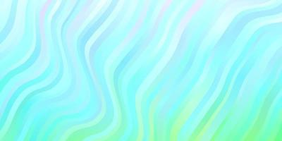 lichtblauwe, groene vectorachtergrond met cirkelboog.