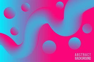 kleurrijke blauw roze vloeistof abstracte achtergrond