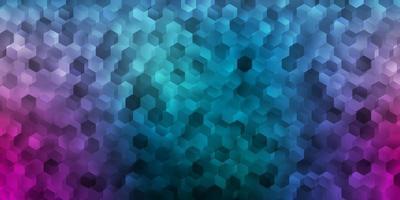 donkerblauwe, rode vectorachtergrond met chaotische vormen.