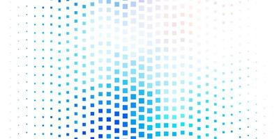 lichtroze, blauwe vectorlay-out met lijnen, rechthoeken.