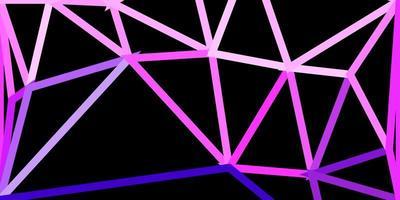 lichtroze vector geometrisch veelhoekig behang.